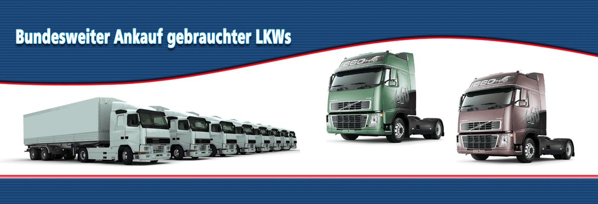 Bundesweiter Ankauf gebrauchter LKWs